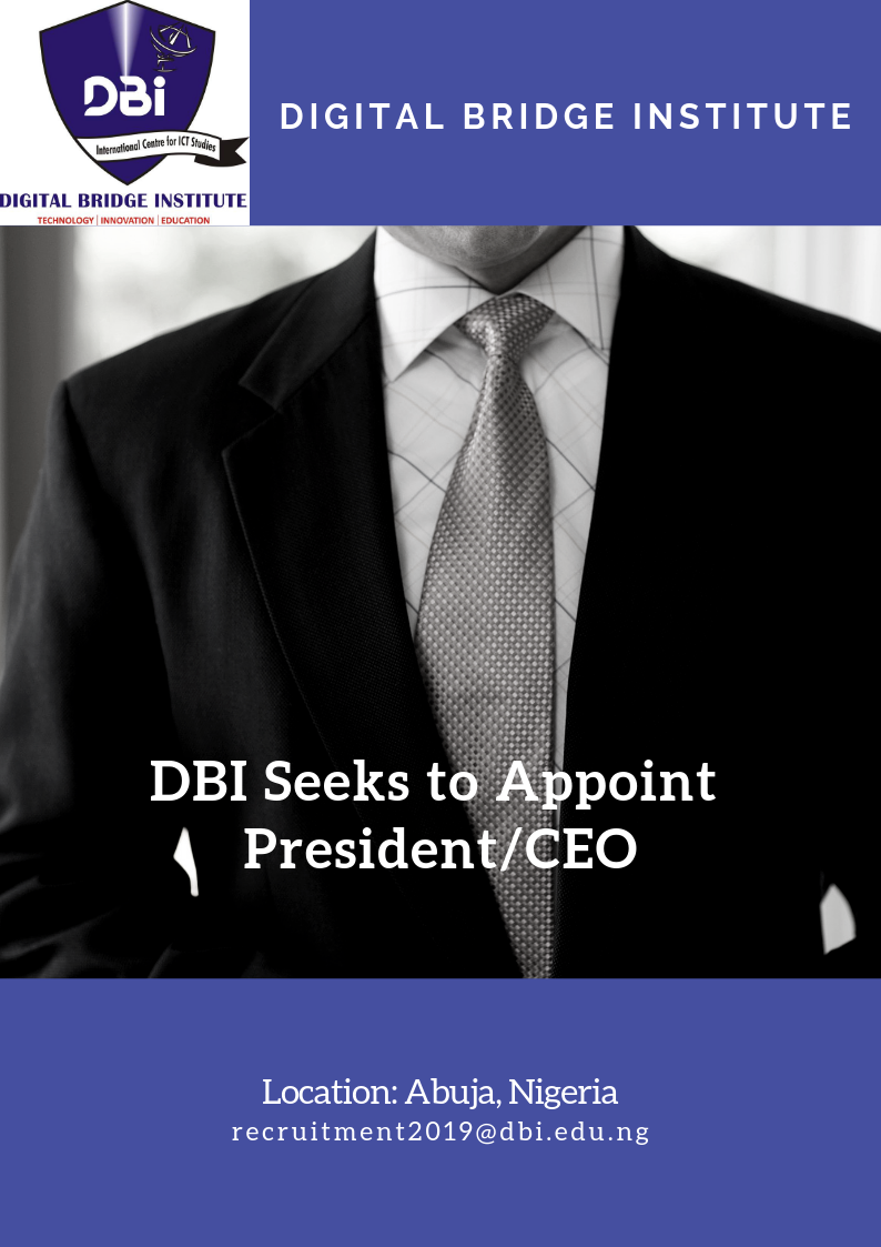 APPOINTMENT OF PRESIDENT/CEO