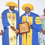 DBI President/CEO, Engr Prof Mohammed Ajiya's Fellowship Conferment ceremony by the NIEE