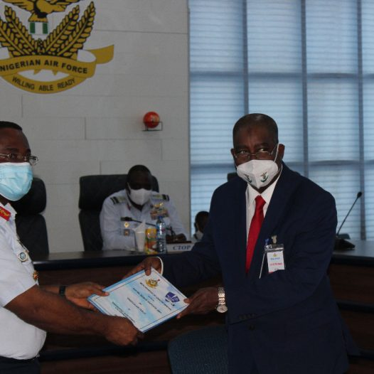 Nigerian Air Force signing of MOU with DBI