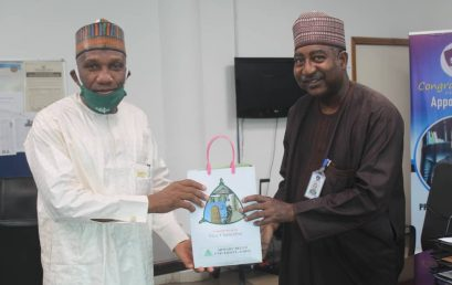 DBI President Meeting with The Vice-Chancellor of Ahmadu Bello University