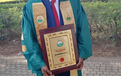 "Prof. Engr. Mohammed Ajiya awarded ""Fellow"" of the Nigerian Society of Engineers."